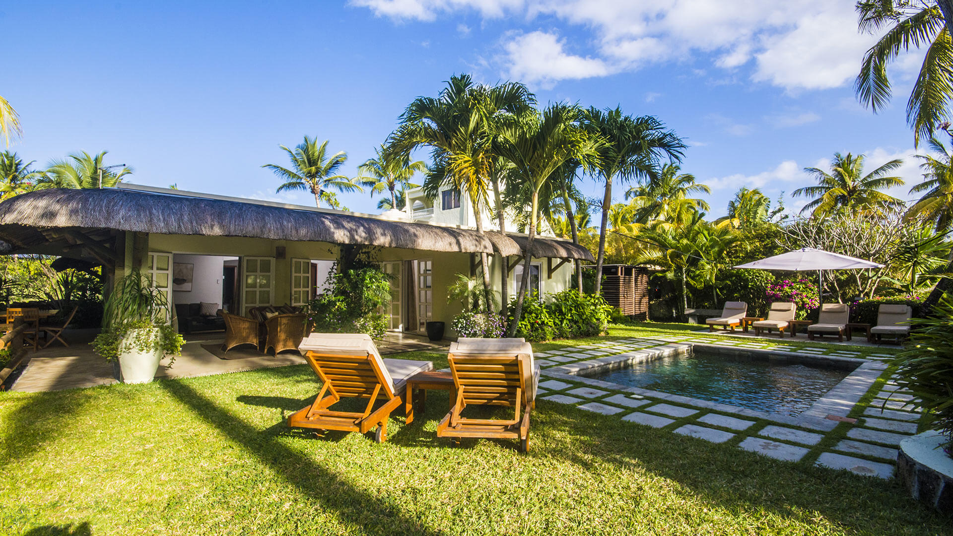 Villa Villa Sweet Badamier, Rental in Mauritius East