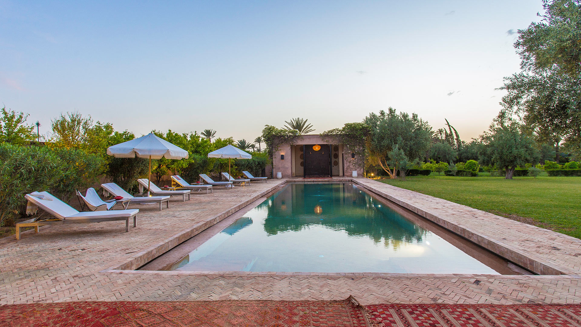 Villa El Zagilda, Location à Marrakech