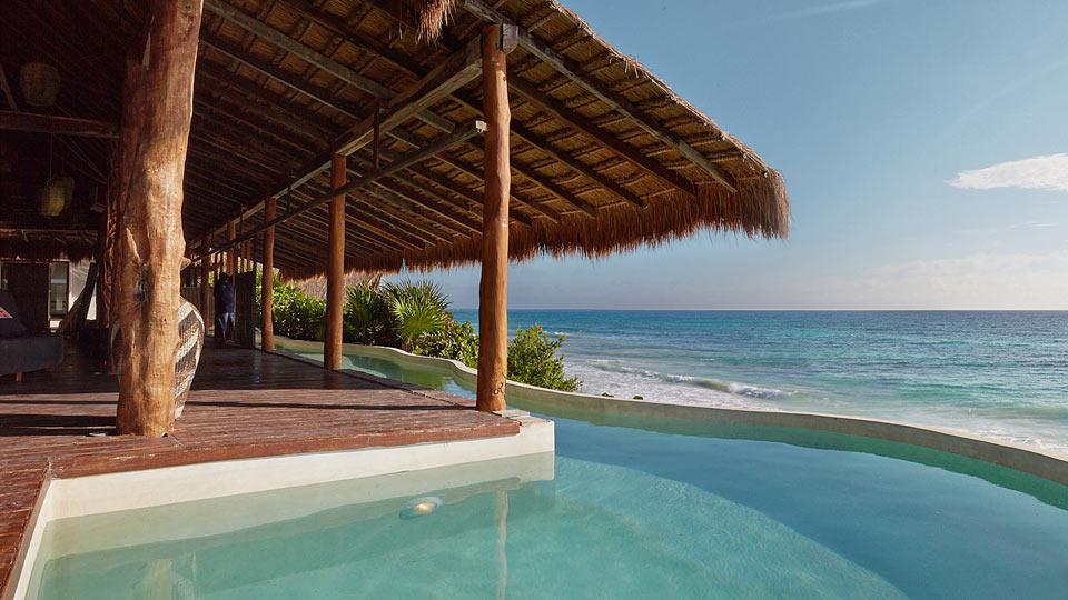 Villa Casa Palapa, Location à Yucatán