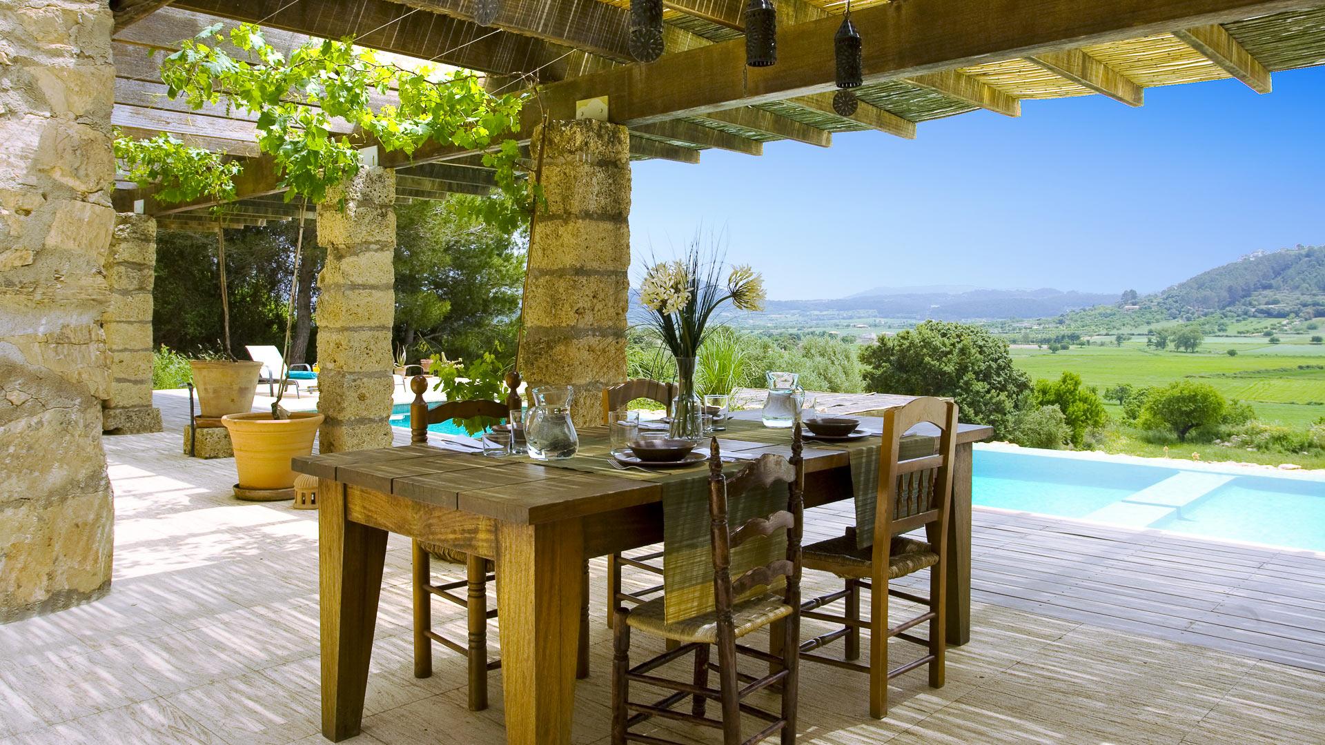 villa platana villa mieten in mallorca zentrum villanovo. Black Bedroom Furniture Sets. Home Design Ideas