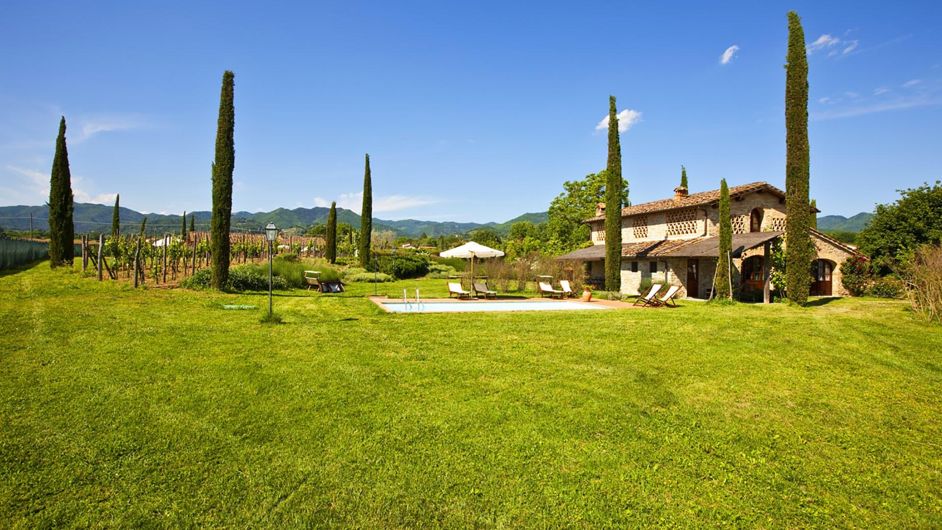 Villa Casa Lorenzo, Location à Toscane