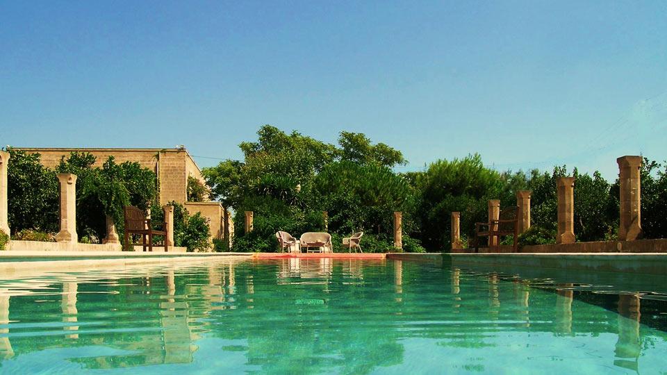 Villa Masseria Ignazio, Location à Pouilles
