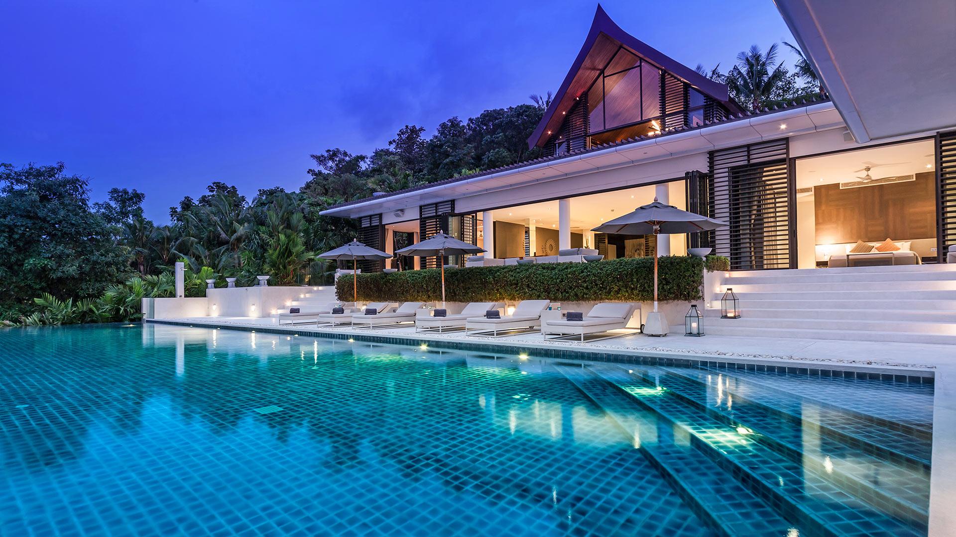 Villa Villa Blue Ocean, Location à Phuket