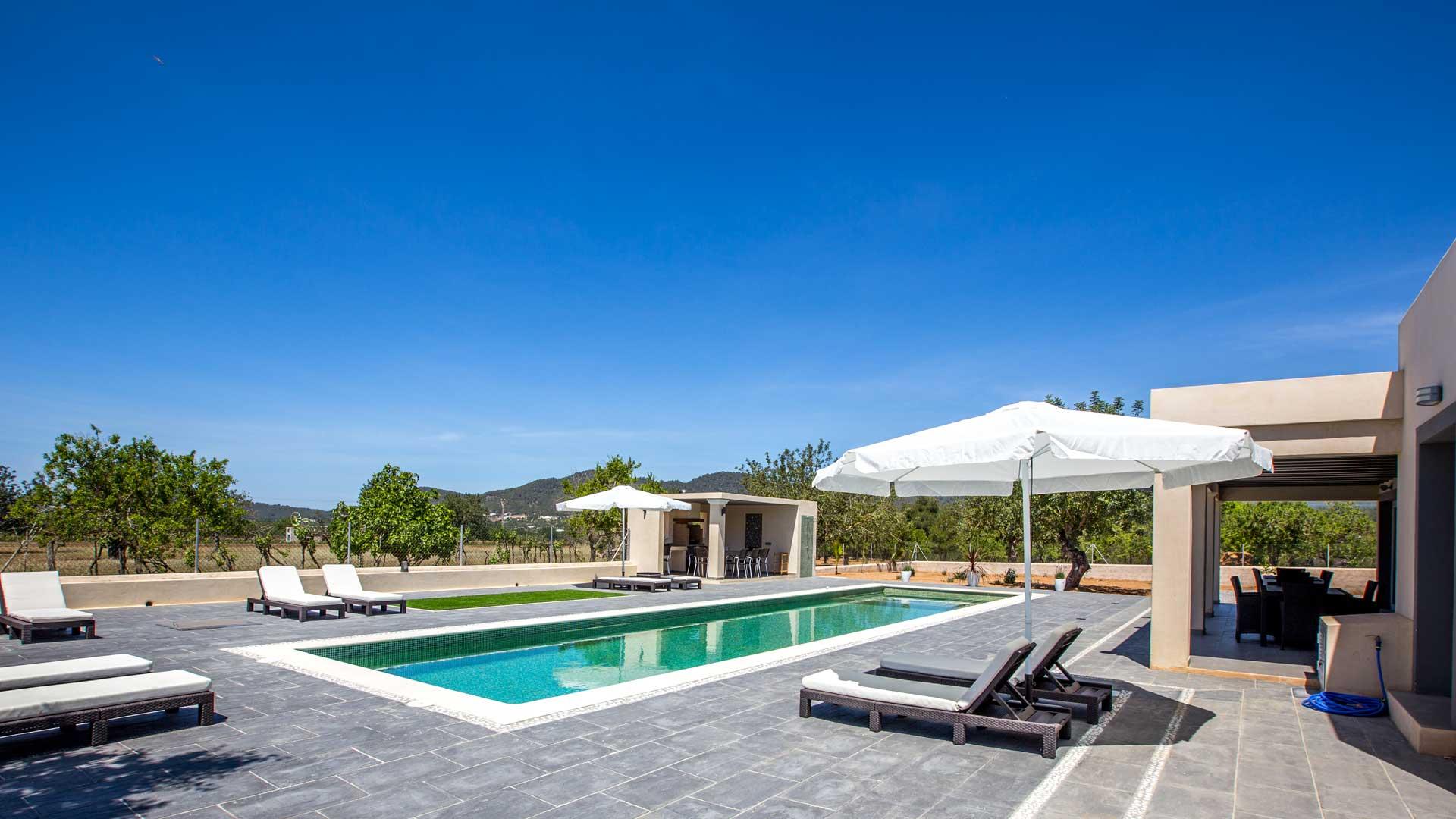 villa 836 villa mieten in ibiza ibiza westen villanovo. Black Bedroom Furniture Sets. Home Design Ideas