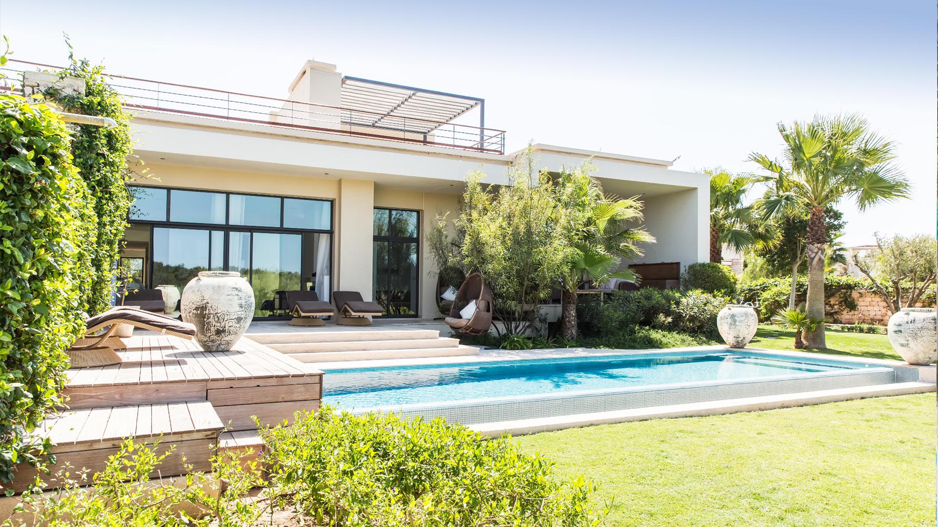 Photos de la villa villa lucia mogador essaouira villanovo - Location villa piscine essaouira ...