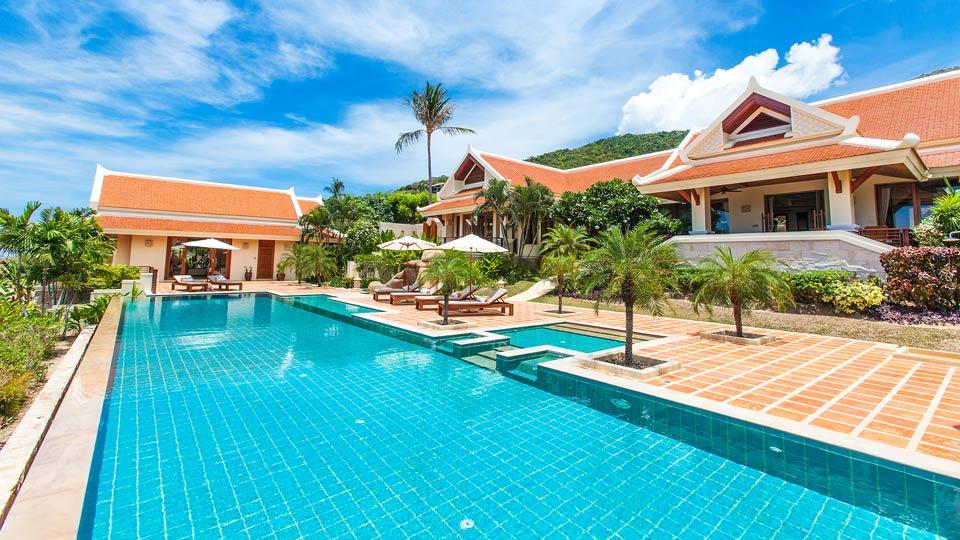 Villa thara villa rental in koh samui bophut villanovo for Villas 400 salamanca