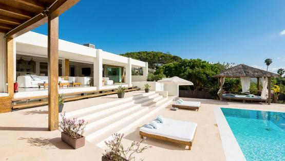 Villa Talamanca, Location à Ibiza