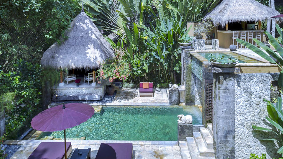 Villa Villa Red Palms, Location à Bali