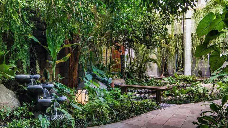 Villa The Luxe Bali à Bali   Jardin