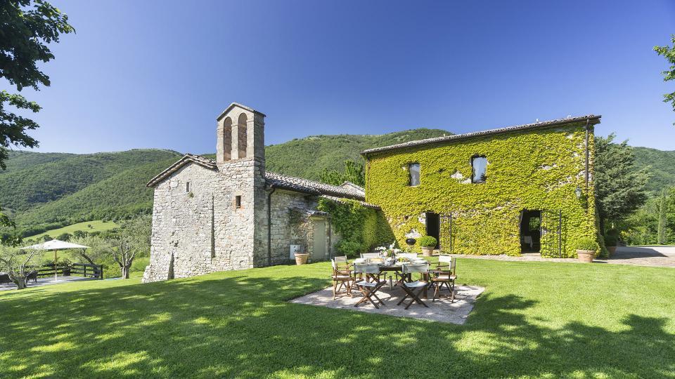 Villa Villa San Savino, Location à Ombrie