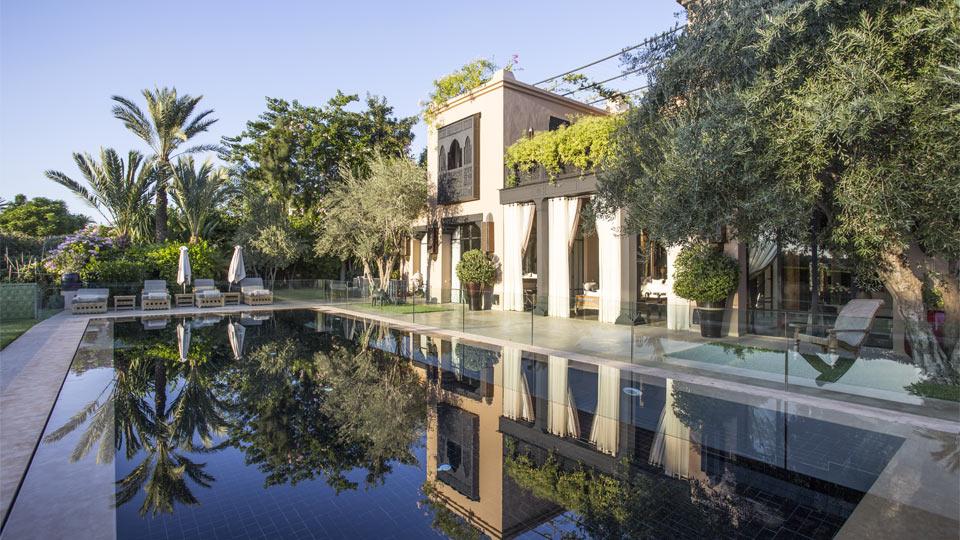 Photos de la villa villa maria amelkis marrakech villanovo for Villa marrakech piscine