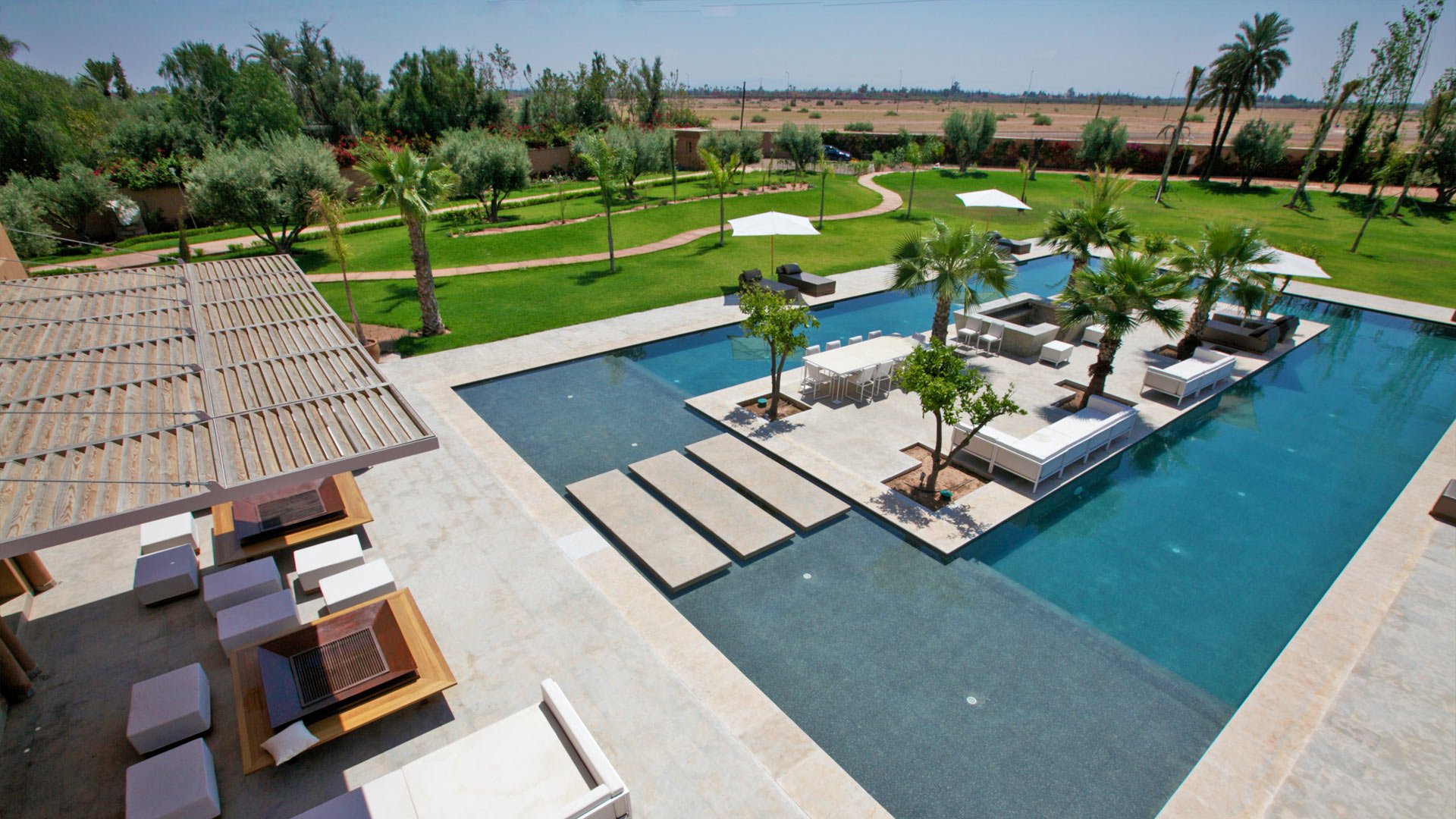 Villa Dar Chamou, Location à Marrakech