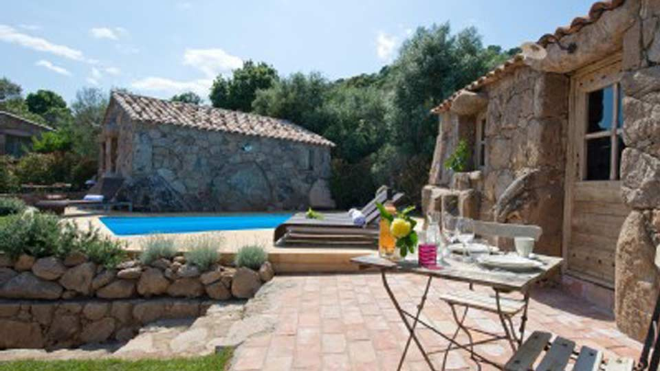 Villa La Bergerie de Julie, Location à Corse
