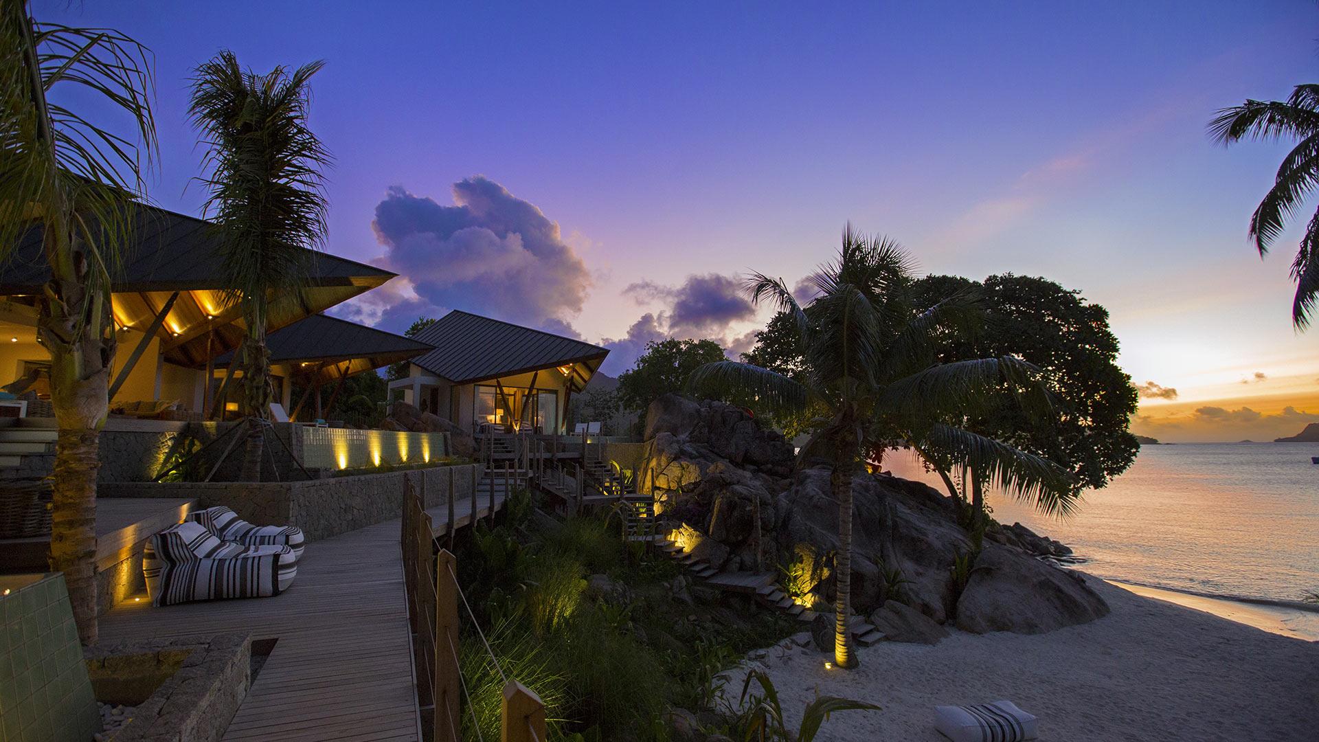 Villa Beach Villa Praslin, Location à Praslin