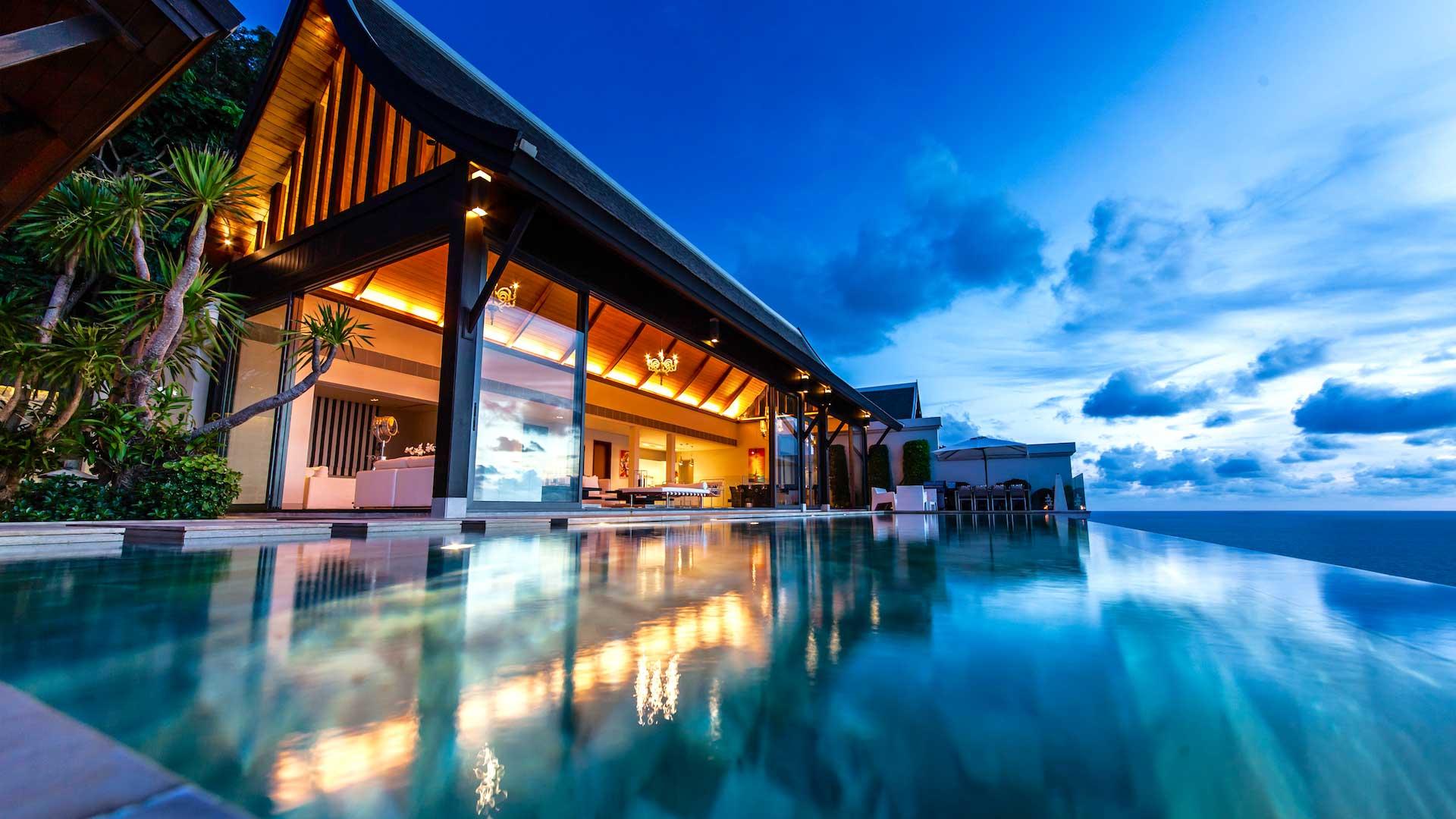 Villa Villa Paradiso, Location à Phuket
