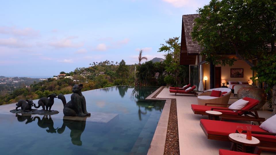 Villa Kalya Residence, Location à Koh Samui