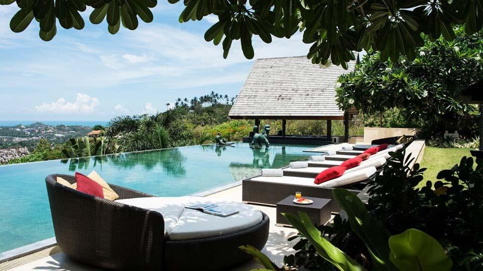 Villa Atulya Residence, Location à Koh Samui