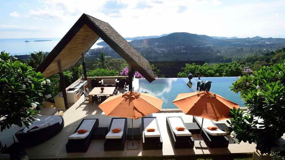 Villa Purana Residence, Location à Koh Samui