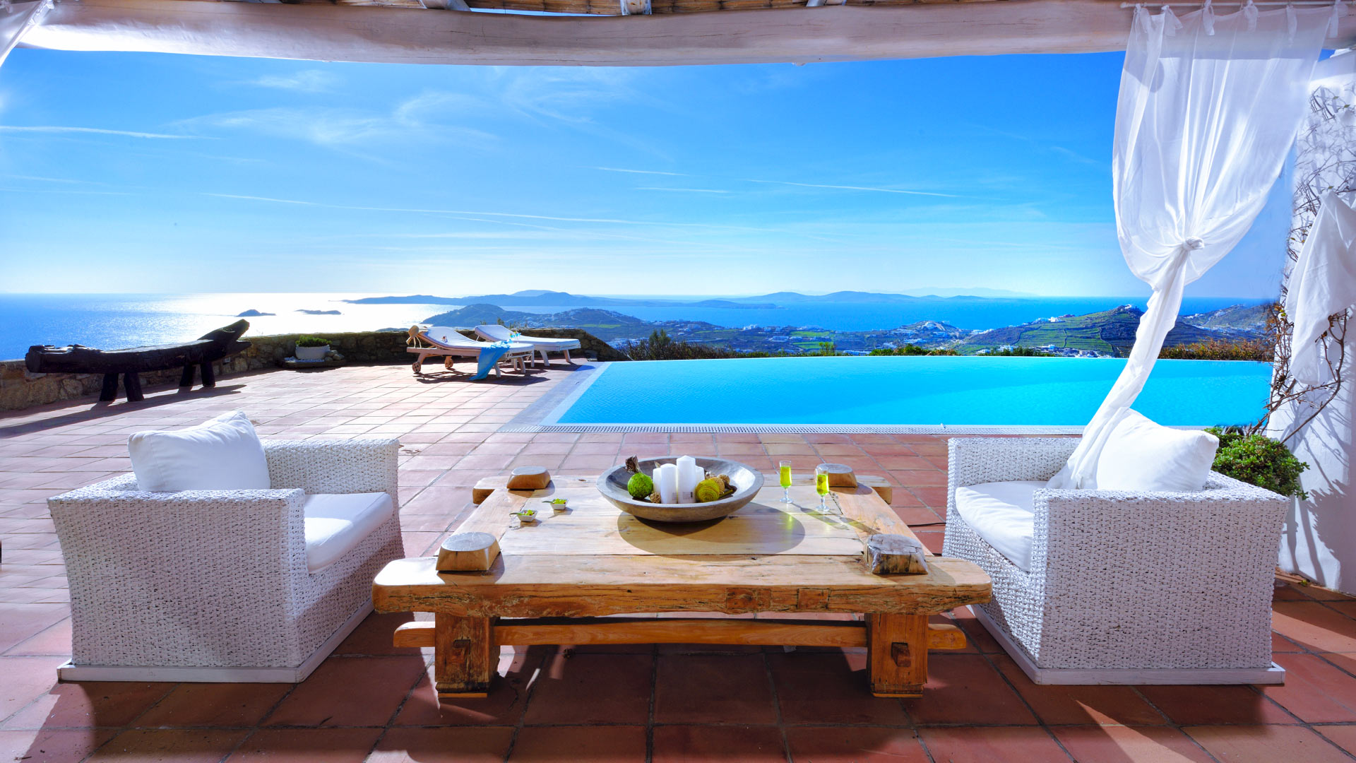 Villa Villa Cristina, Location à Cyclades - Mykonos
