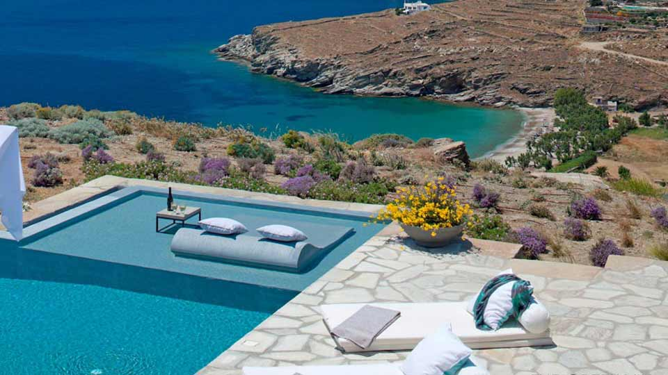 Villa Villa Kalistro, Ferienvilla mieten Kykladen - Tinos