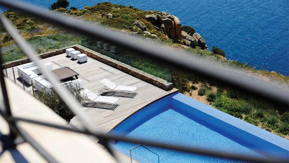 Villa Il Faro, Location à Sardaigne