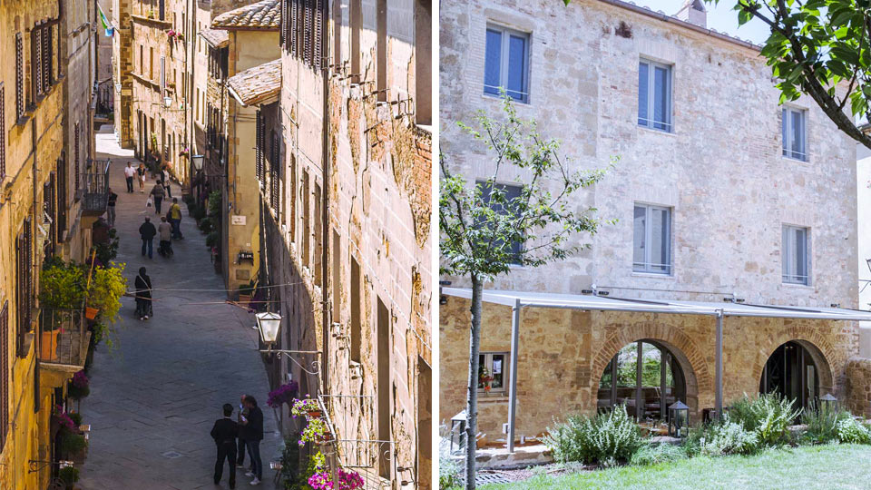 villa pienza