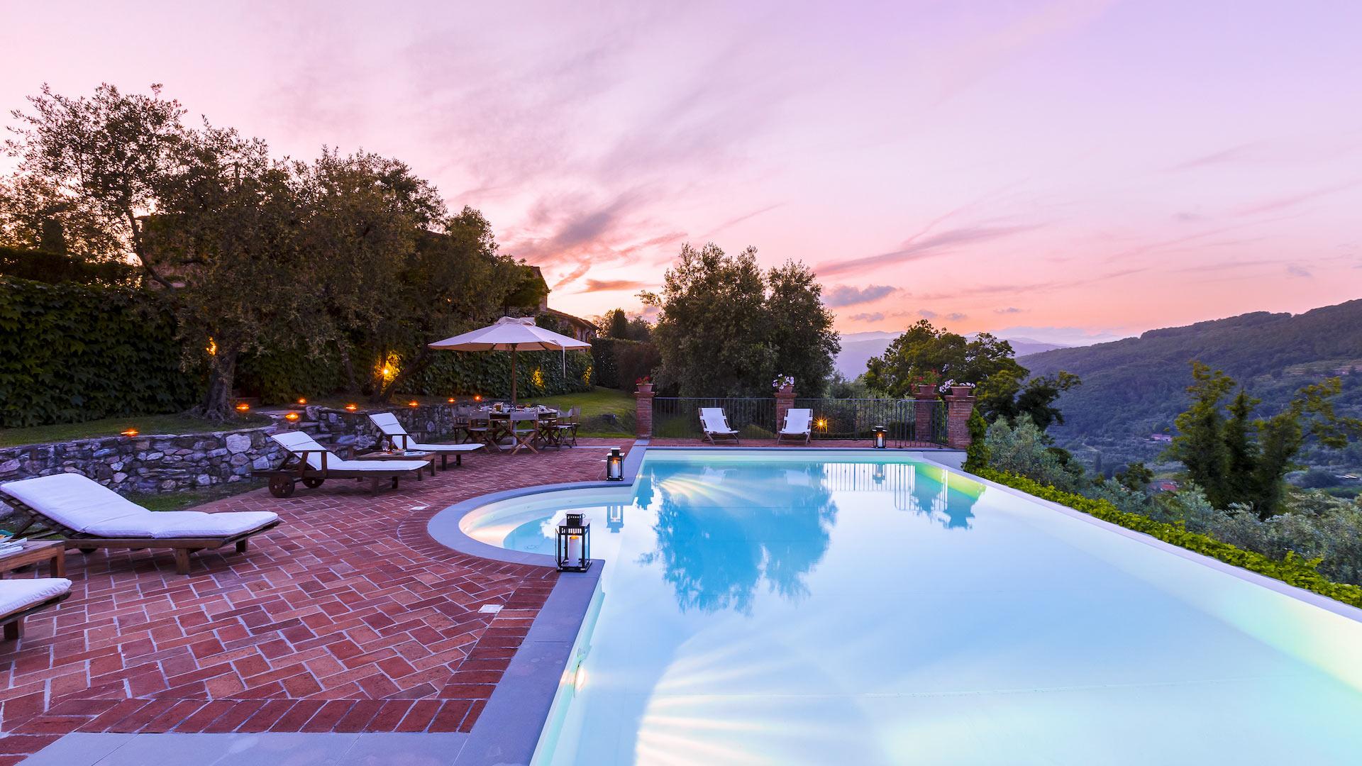Villa Villa Pistoia, Location à Toscane