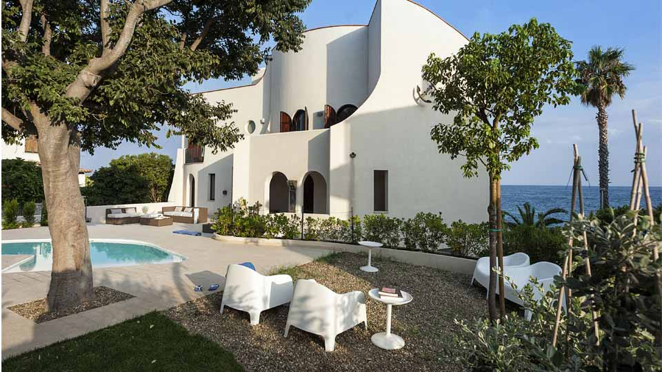 Villa Villa Naxos, Location à Sicile