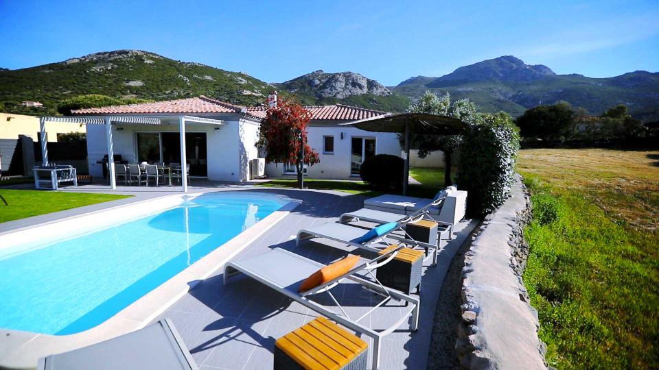 Villa Villa Lilas, Location à Corse