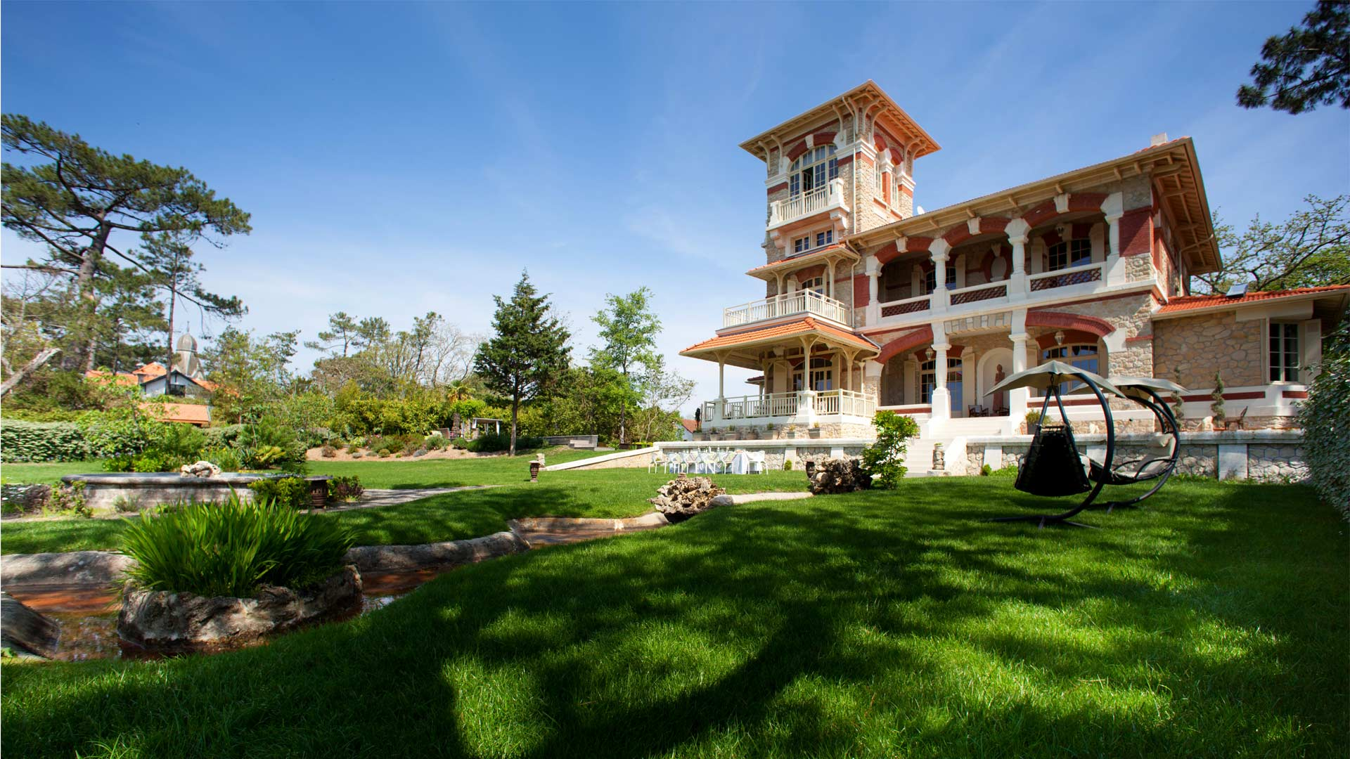 villa lanton villa rental in southwest arcachon bay villanovo. Black Bedroom Furniture Sets. Home Design Ideas
