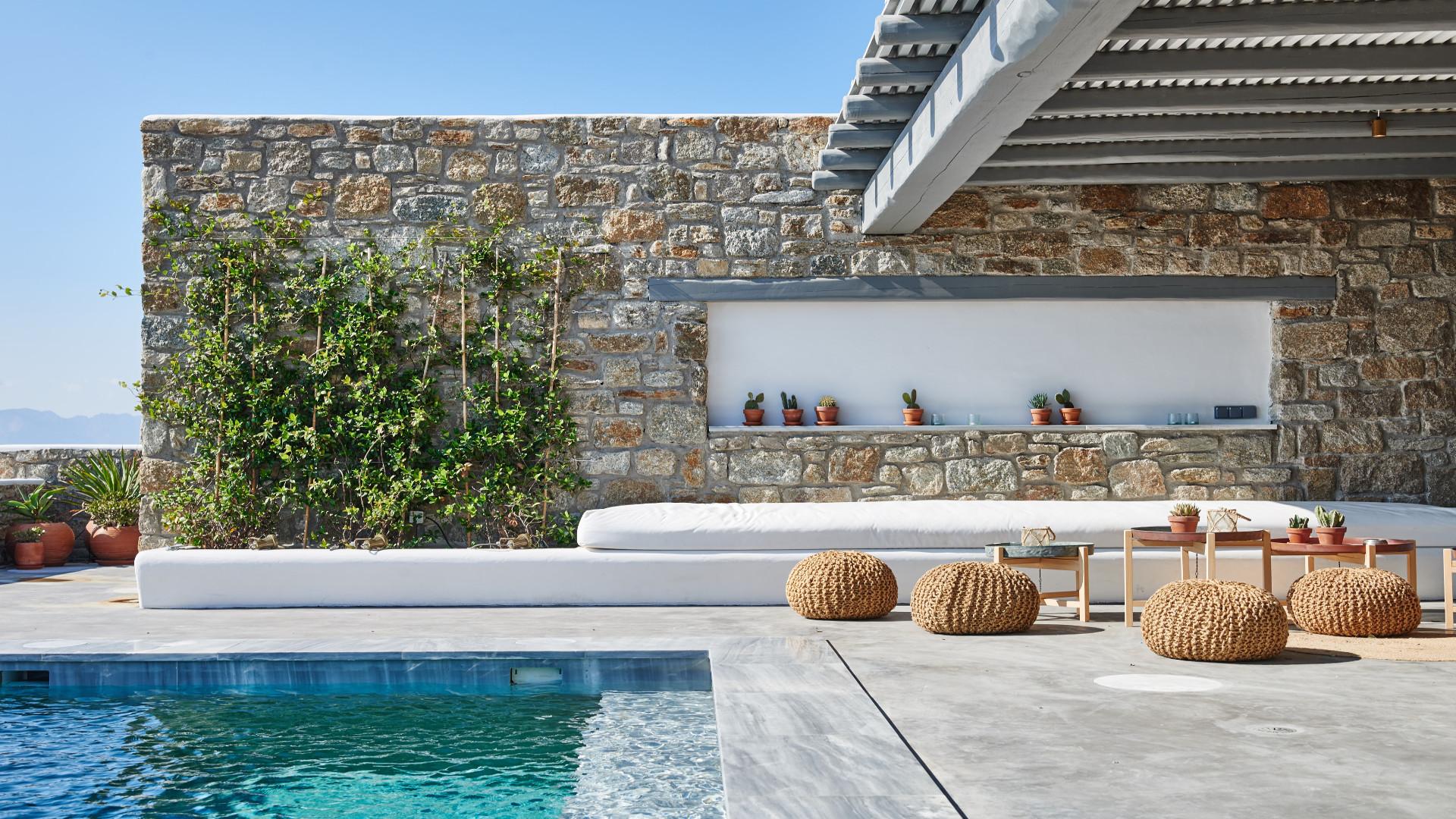 Location de villas de luxe en gr ce Villa de luxe design