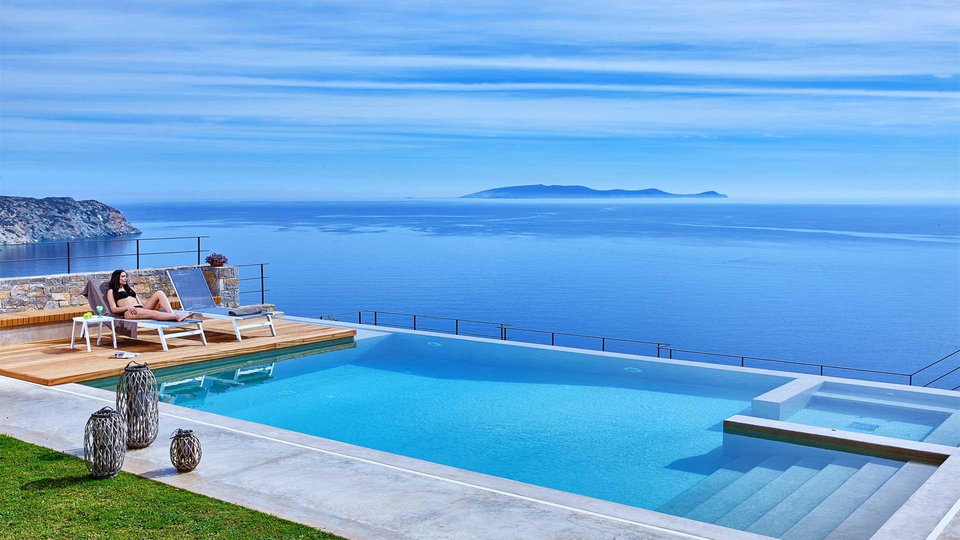 Villa Villa Azuréa, Location à Crete