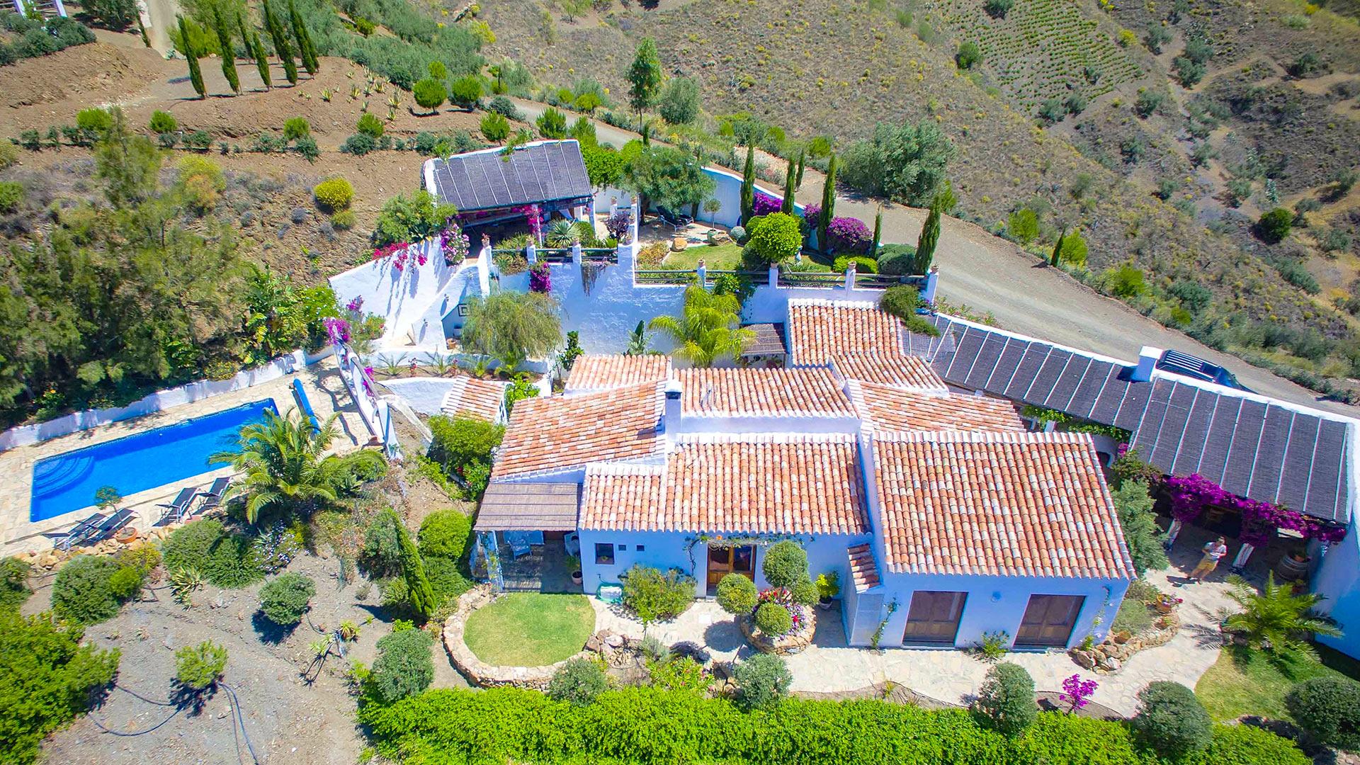 Villa Le Pavillon de chasse Carligto, Rental in Andalusia