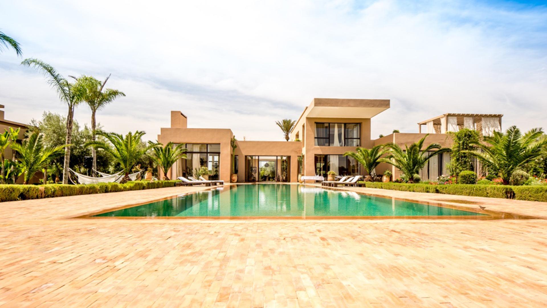 Villa Elghalia, Location à Marrakech