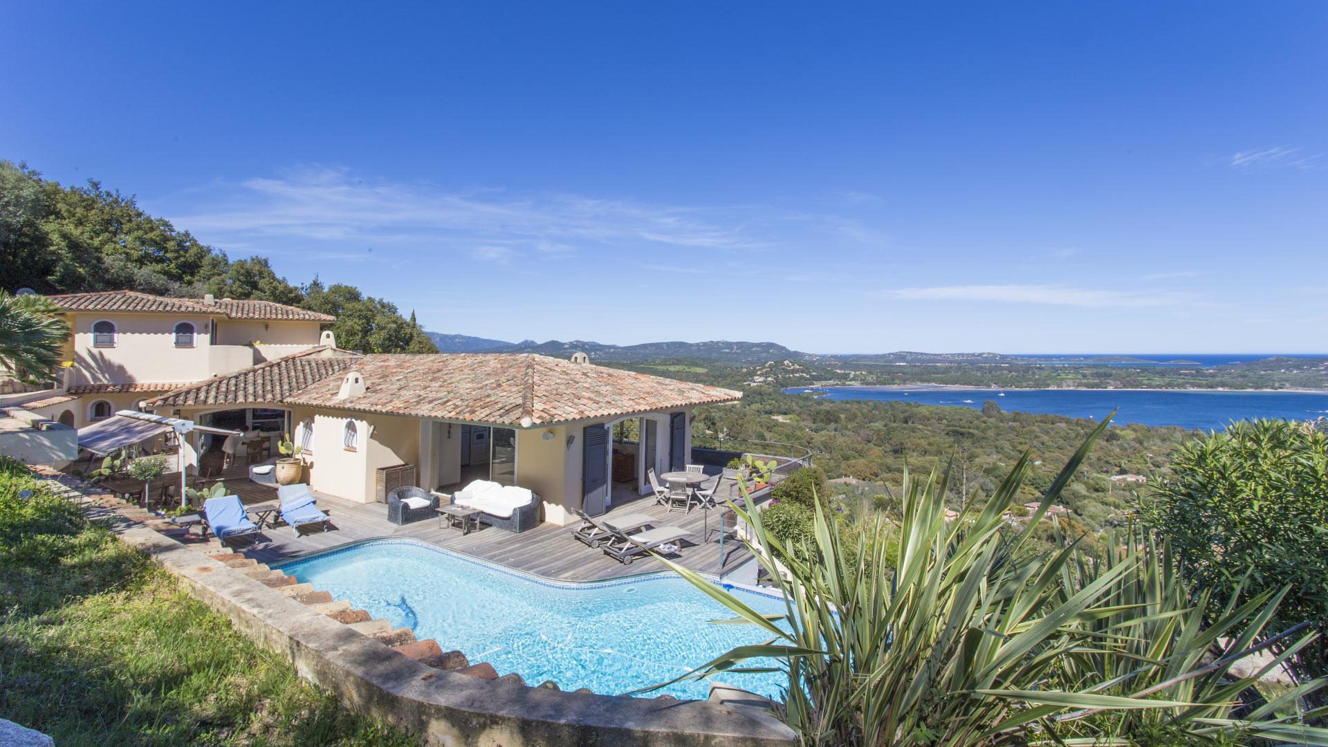 Célèbre Luxury villa rentals in Porto-Vecchio OU67