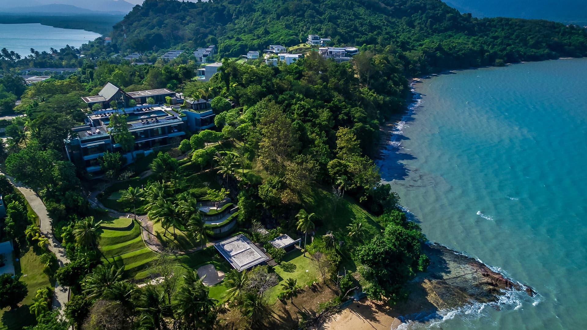 Villa Villa Sawarin, Location à Phuket