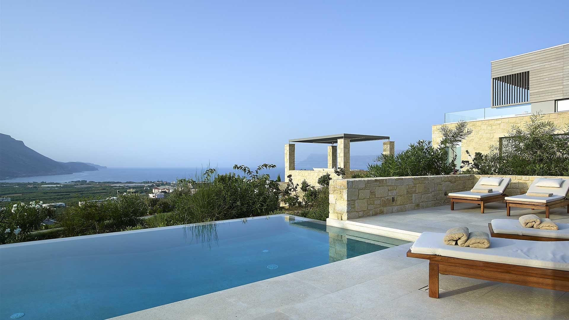 villa thalassa villa louer crete chania villanovo. Black Bedroom Furniture Sets. Home Design Ideas