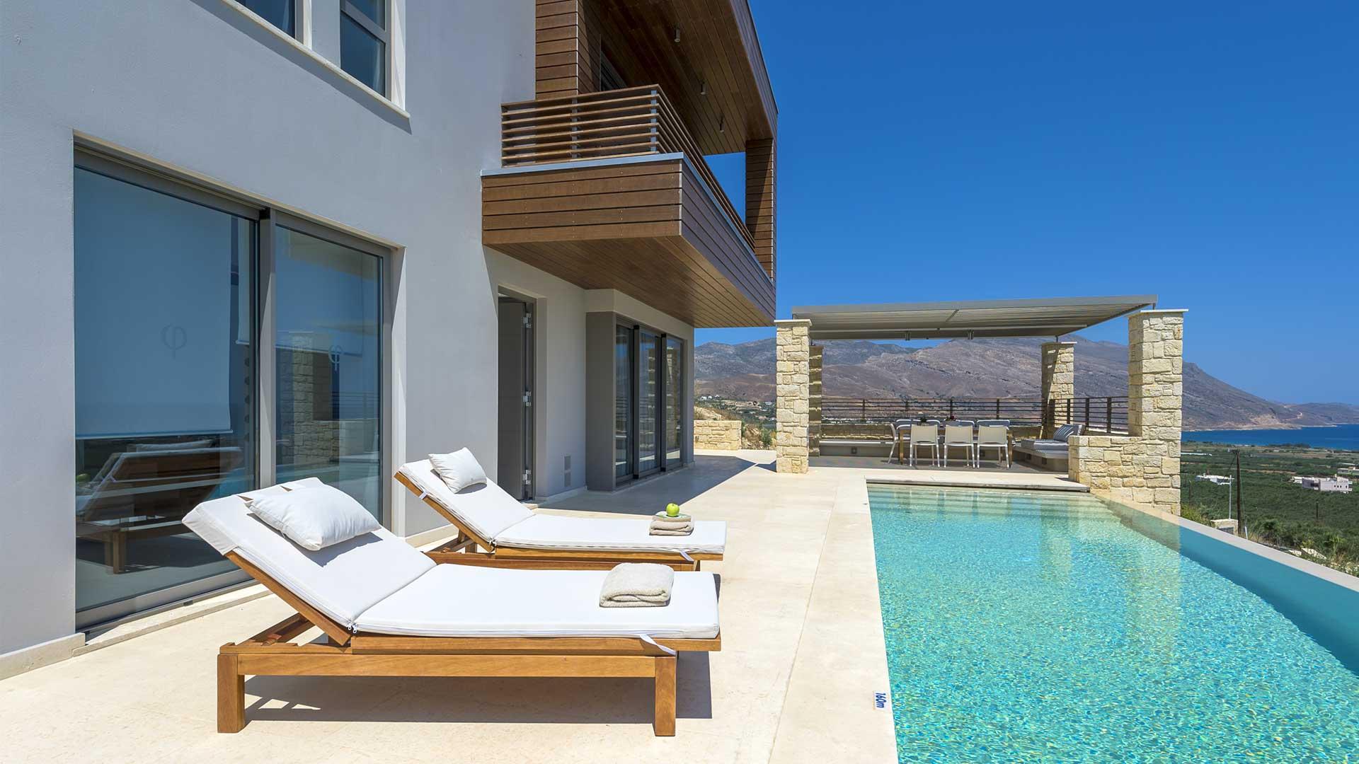 Villa Villa Harmona, Location à Crete