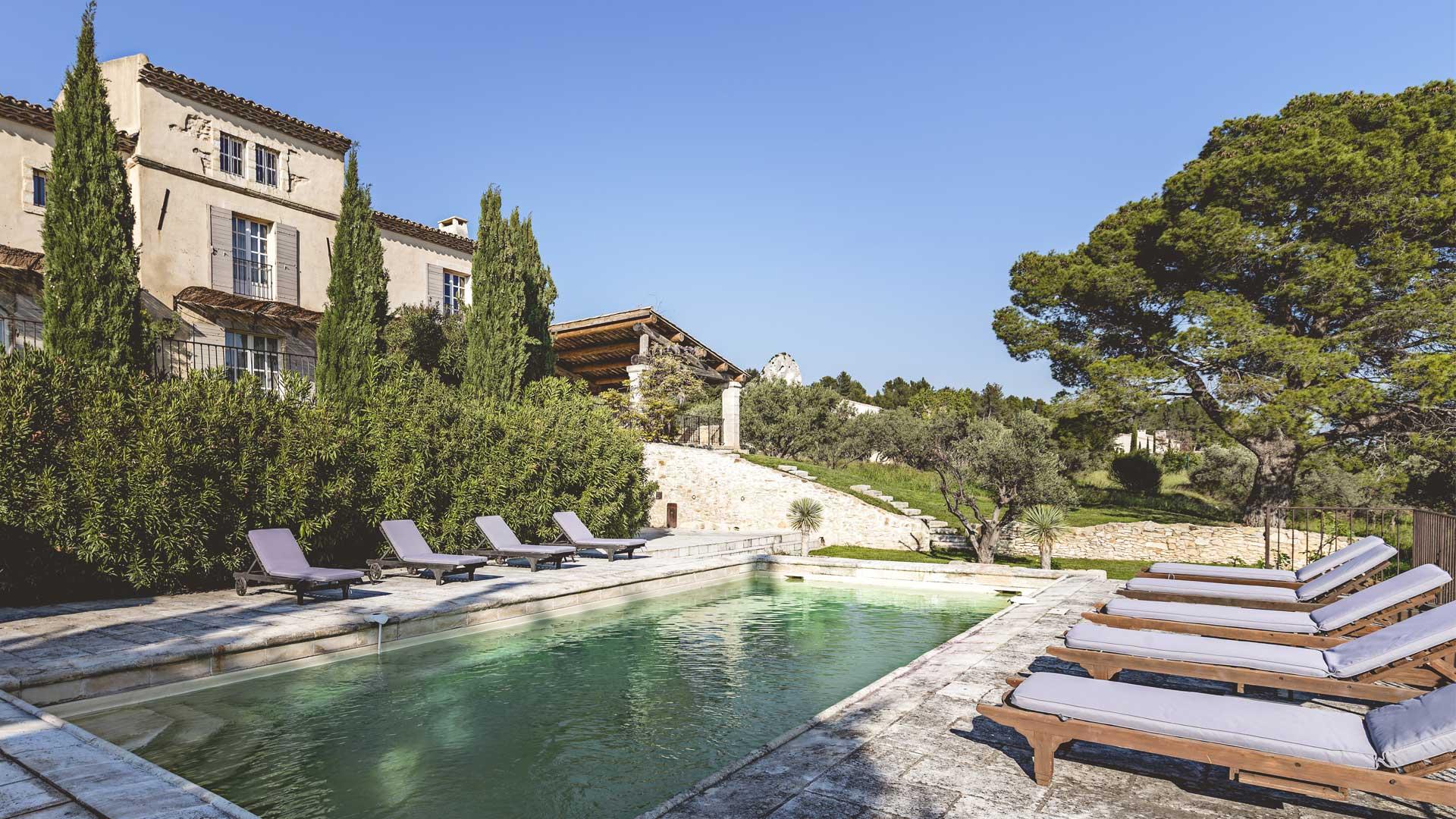 Villa Mas des Baux, Location à Provence