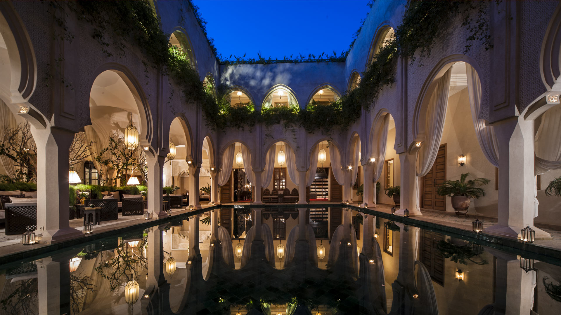 Villa Riad A, Location à Marrakech