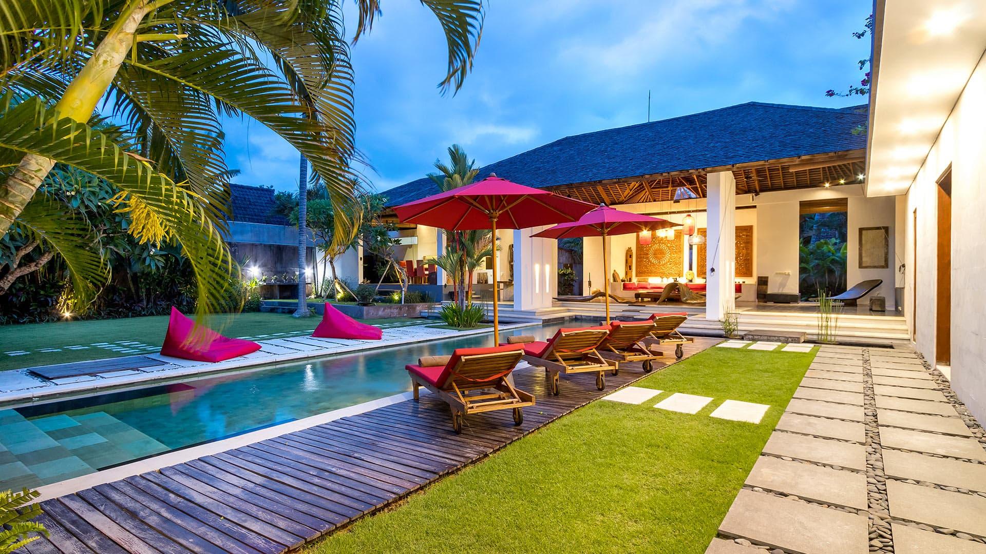 Villa Villa Arte, Location à Bali