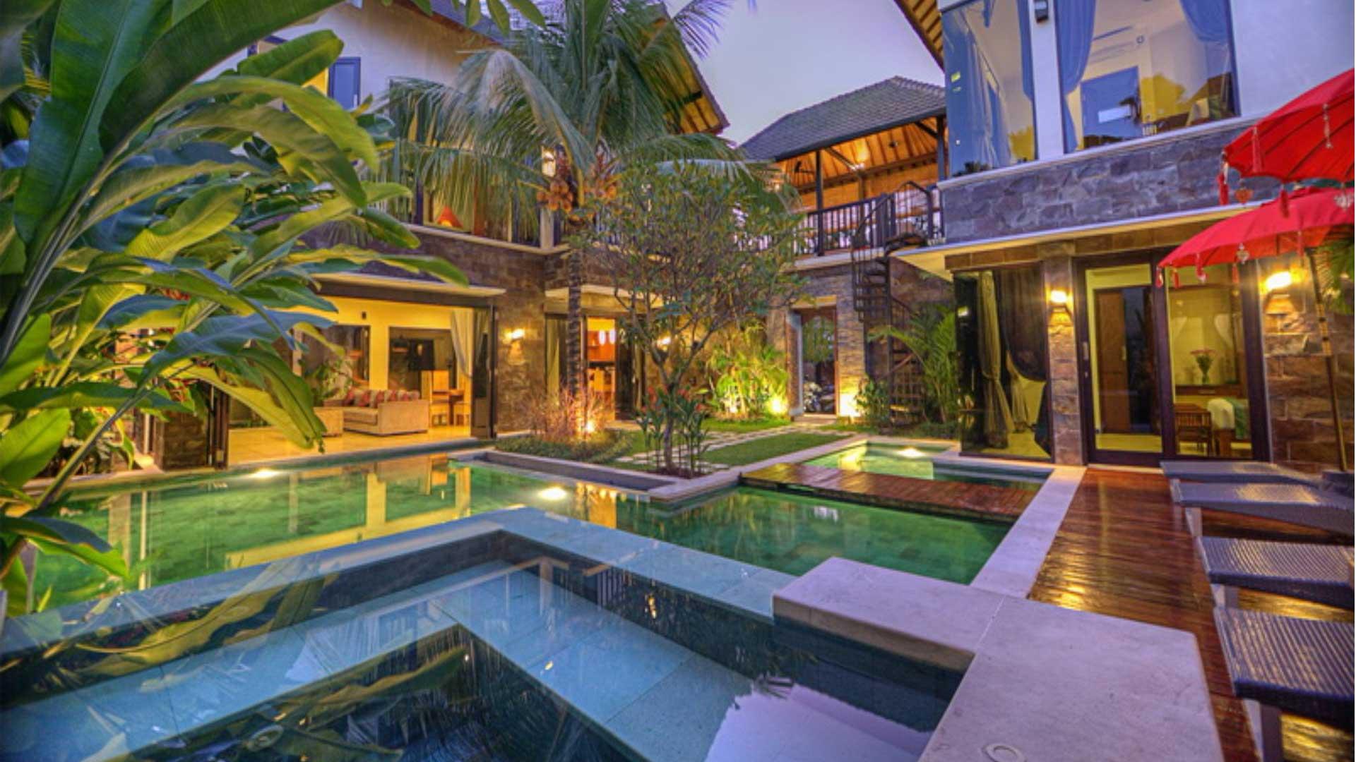 Villa Villa Sundari, Location à Bali