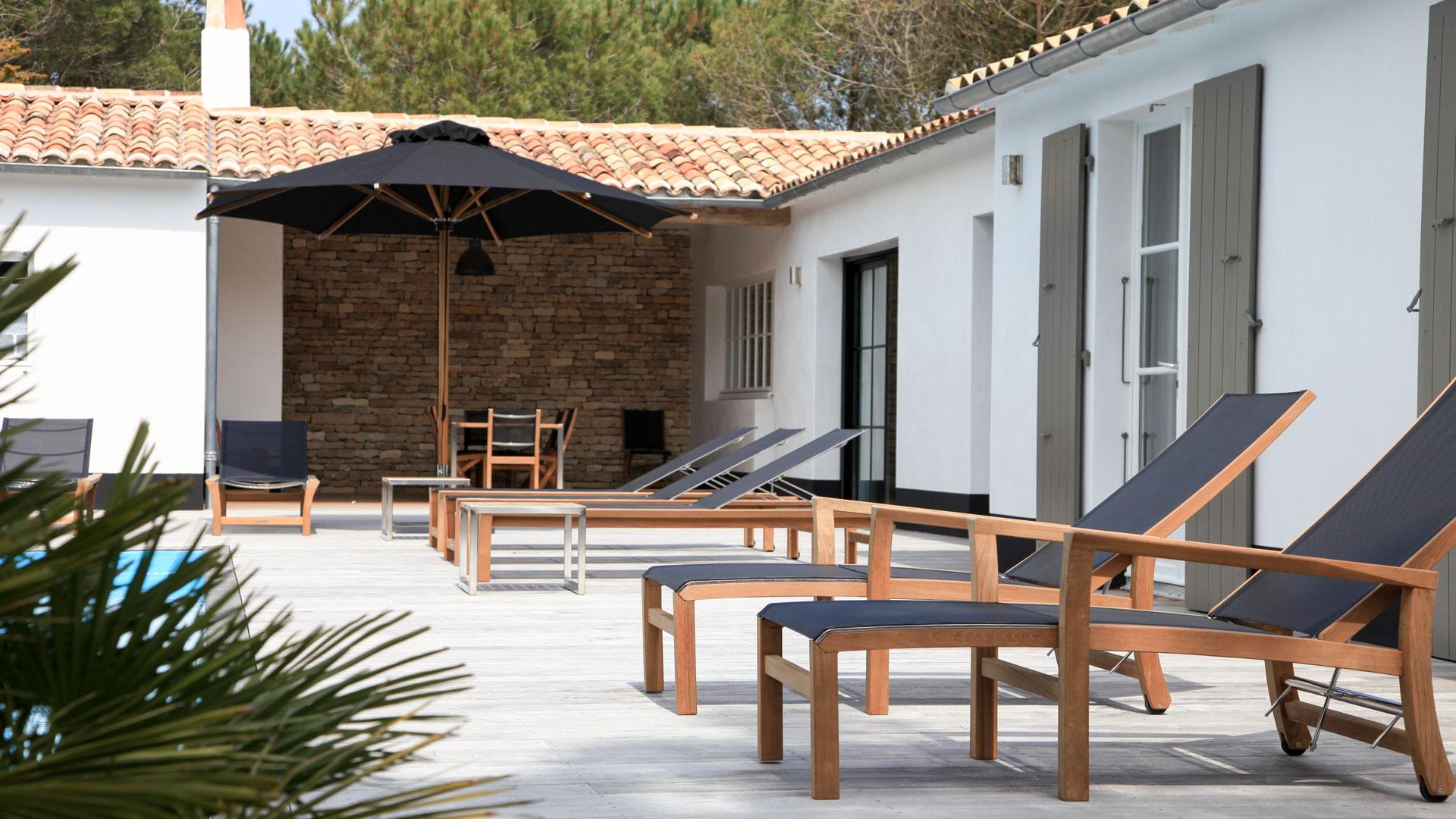 Populaire Villa Trousse Chemise - Villa à louer à Île de Ré, Les Portes en  WP29
