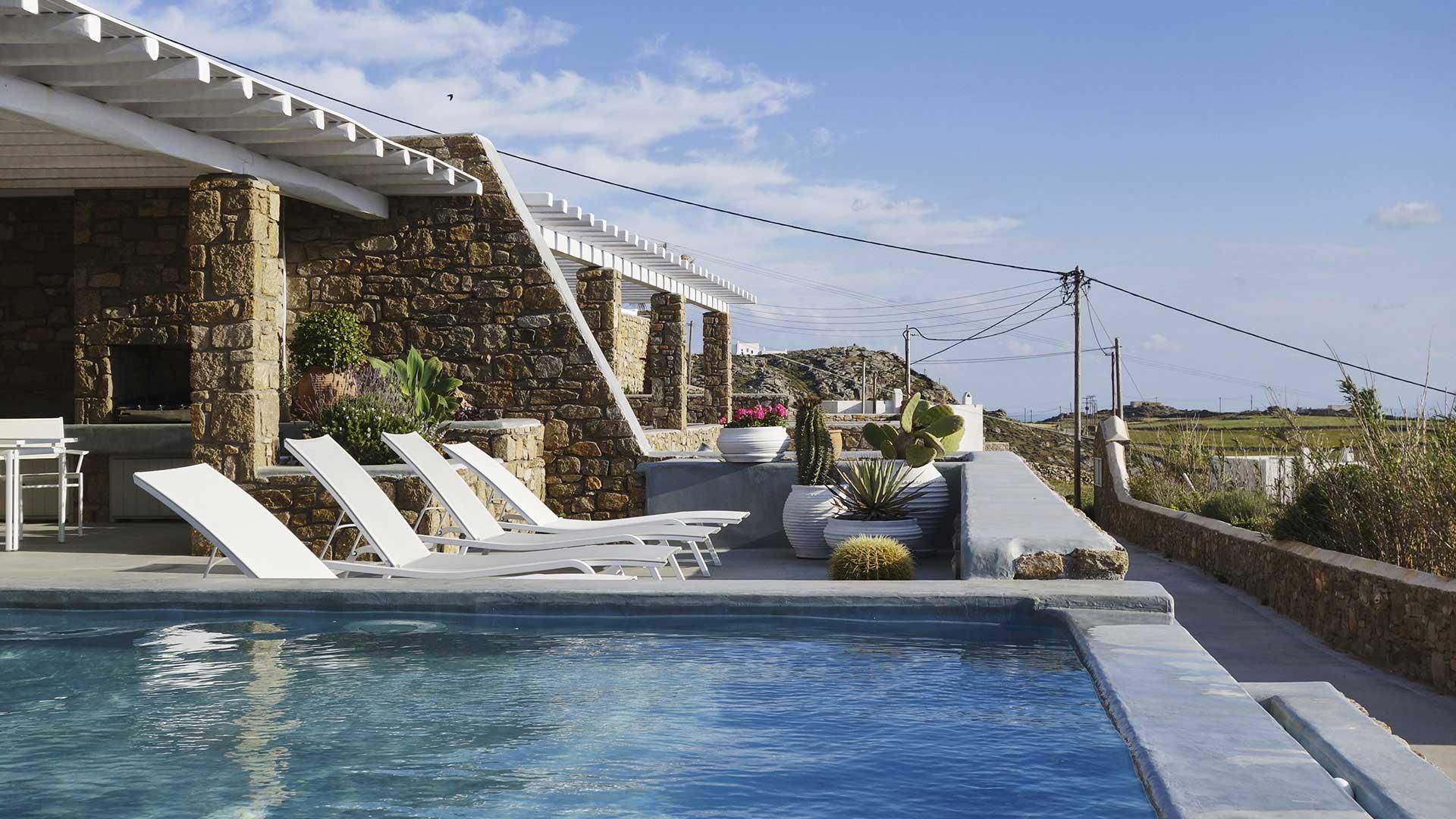 Villa Villa Cactus, Location à Cyclades - Mykonos