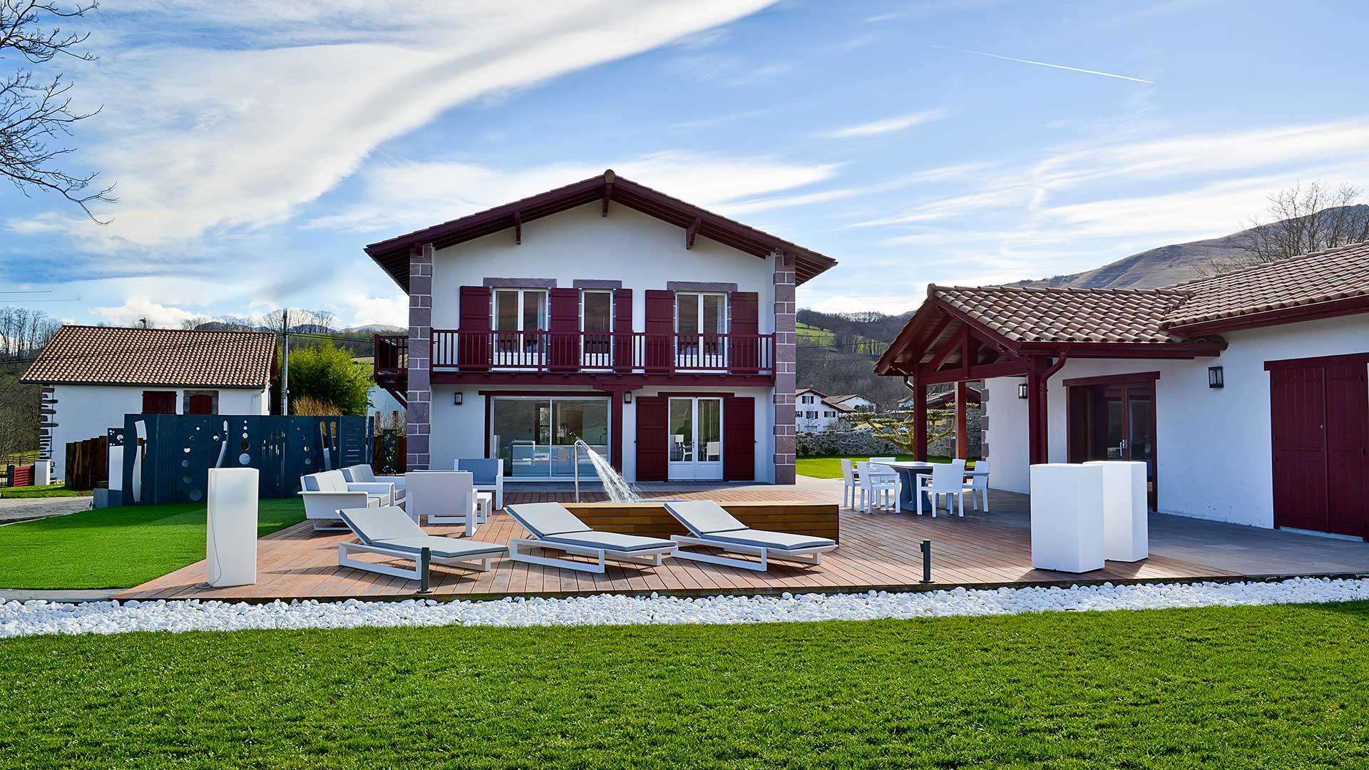 Villa Villa Mendi Munhoa, Location à Sud Ouest