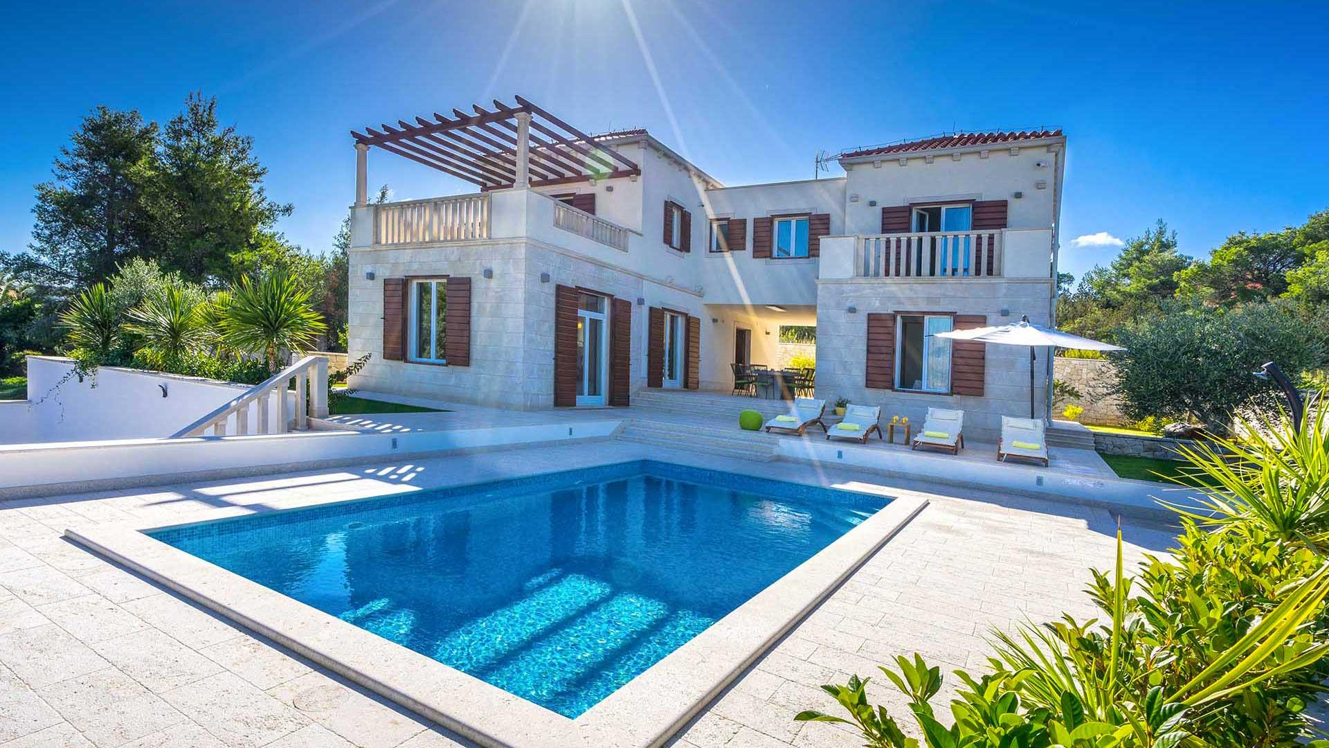 Villa Villa Splitska, Location à Dalmatie