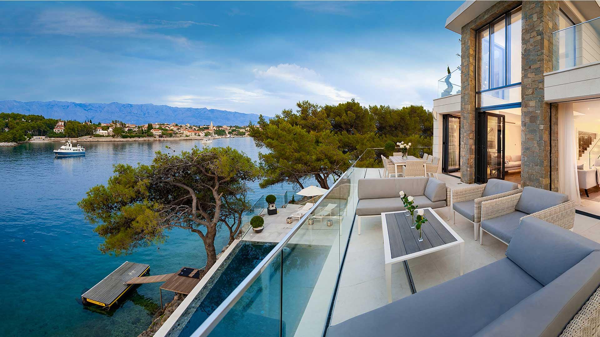 Villa Villa Violetta, Location à Dalmatie