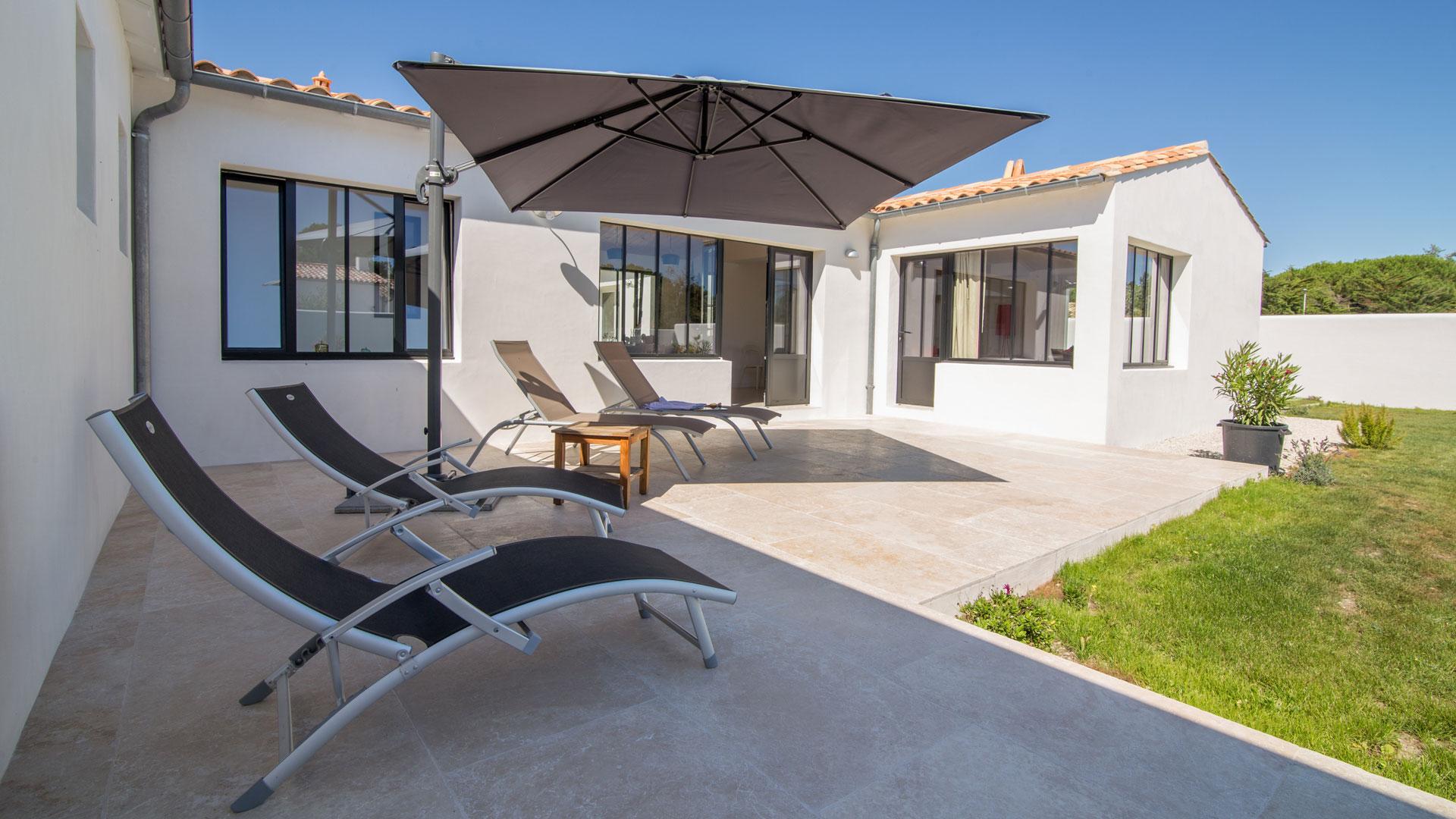 Photos de la villa villa calidris le de r villanovo for Villa ile de re