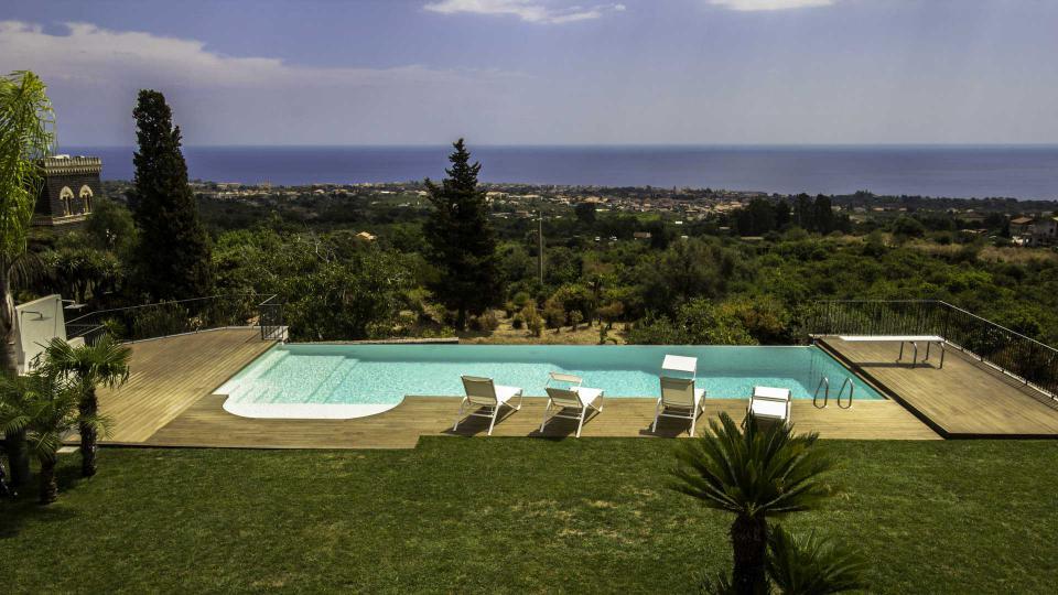 Villa Villa Taormina, Location à Sicile