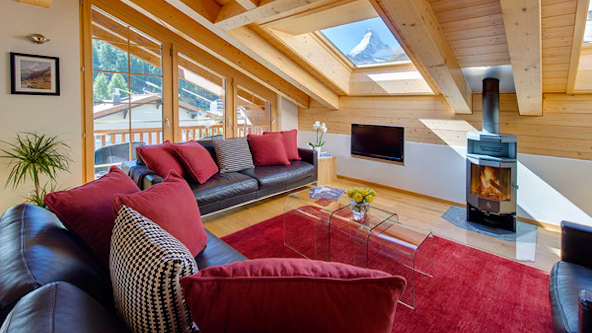 Villa Matterhorn Loft, Ferienvilla mieten Schweizer Alpen